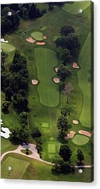 Acrylic Print featuring the photograph Philadelphia Cricket Club Wissahickon Golf Course 5th Hole by Duncan Pearson