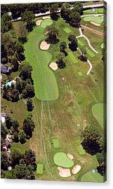 Philadelphia Cricket Club Wissahickon Golf Course 6th Hole Acrylic Print by Duncan Pearson