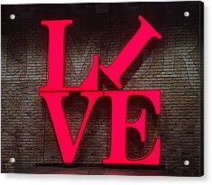 Philadelphia Live Acrylic Print
