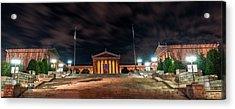 Philadelphia Museum Of Art Acrylic Print by Marvin Spates