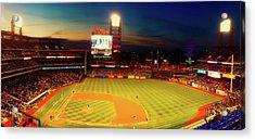 Philadelphia Phillies Baseball Acrylic Print