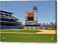 Philadelphia Phillies Stadium  Acrylic Print by Brynn Ditsche