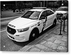 Philadelphia Police Narcotics Strike Force Police Cruiser Vehicle Usa Acrylic Print