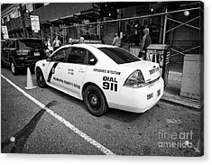 Philadelphia Sheriffs Office Chevy Impala Police Cruiser K-9 Unit Explosives Detection Vehicle Usa Acrylic Print