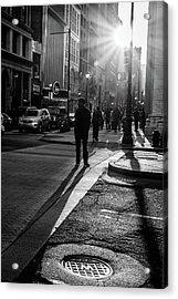 Philadelphia Street Photography - 0943 Acrylic Print
