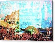 Phili And Landungsbruecken Acrylic Print