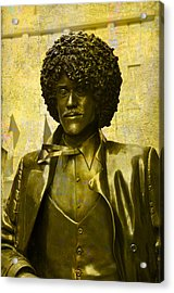 Philip Lynott Statue Acrylic Print