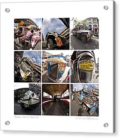 Philippines Photo Set Number One Acrylic Print by Rolf Bertram