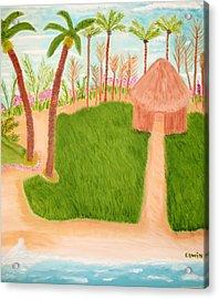 Phillipine Vacation Acrylic Print by Edwin Long