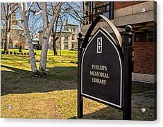 Phillips Memorial Library Providence College Acrylic Print