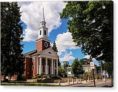 Phillips Stevens Chapel, Williston Northampton School, Easthampton, Ma Acrylic Print