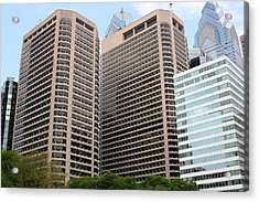 Philly  Acrylic Print by Paul SEQUENCE Ferguson             sequence dot net