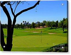 Phoenician Golf Club Series - 64 Acrylic Print