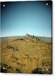 Phoenix 3d View North-south Natural Color Acrylic Print