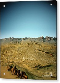 Phoenix 3d View South-north Natural Color Acrylic Print by Frank Ramspott