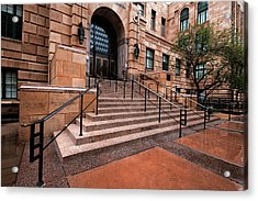 Acrylic Print featuring the photograph Phoenix Arizona Courthouse by Dave Dilli
