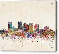 Phoenix Arizona Skyline Acrylic Print