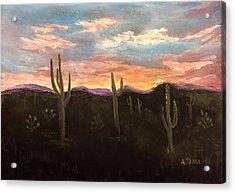 Phoenix Az Sunset Acrylic Print