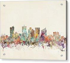 Phoenix City Acrylic Print
