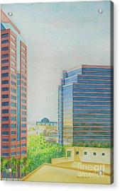 Phoenix II Acrylic Print