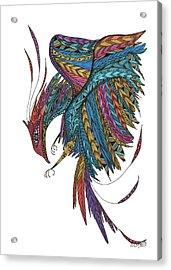 Phoenix Landing Acrylic Print