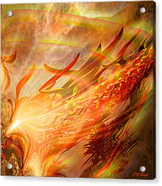 Phoenix Acrylic Print by Michael Durst
