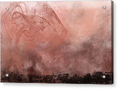 Phoenix Rising Acrylic Print by Christopher Gaston