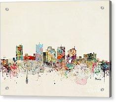 Phoenix Skyline Acrylic Print