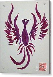 Phoenix Starr Acrylic Print