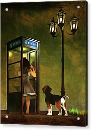 Phoning Home Acrylic Print