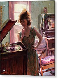 Phonograph Days Acrylic Print