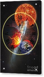 Photo Illustration Of The End Acrylic Print by George Mattei