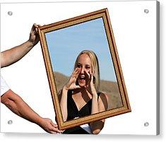 Photo In Photo Acrylic Print