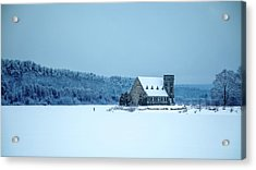 Photographer On Thin Ice Acrylic Print