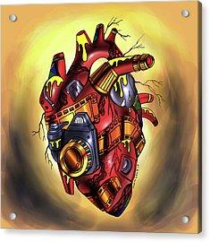 Photographer's Heart Acrylic Print