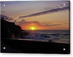 Photographer's Sunset Acrylic Print by Terri Waters