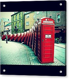 #photooftheday #london #british Acrylic Print