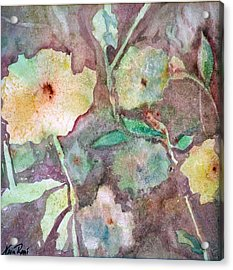 Photosynthesis Acrylic Print by Neva Rossi