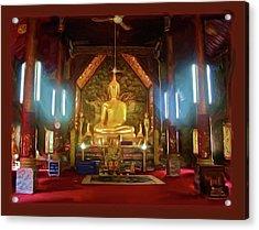 Phra Chao Kao Tue Acrylic Print
