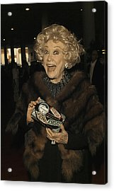 Phyllis Diller Acrylic Print by Nina Prommer