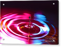 Physics Of Water 1 Acrylic Print by Jimmy Ostgard
