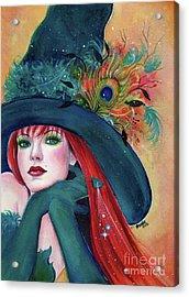 Pia Dora Witch Acrylic Print
