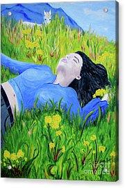Pia Acrylic Print