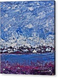Piankatank  Snowstorm Acrylic Print