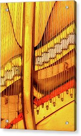 Piano 1 Acrylic Print by Rebecca Cozart
