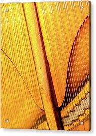 Piano 3 Acrylic Print by Rebecca Cozart