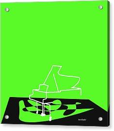 Piano In Green Acrylic Print
