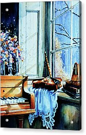 Piano In The Sun Acrylic Print by Hanne Lore Koehler