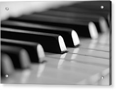 Piano Keys Acrylic Print by Falko Follert