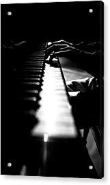Piano Player Acrylic Print